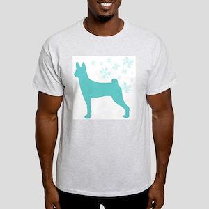 Basenji Snowflake Light T-Shirt