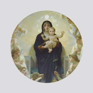 Mary Mother of God Round Ornament