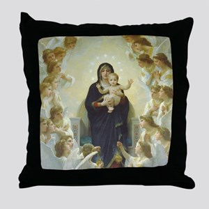 Mary Mother of God Throw Pillow