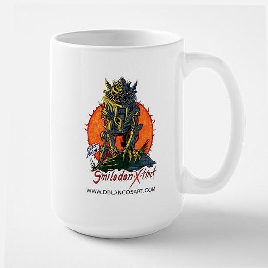 Cyber Sabertooth Large Mug