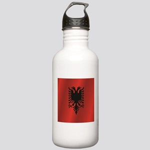 Albania flag Stainless Water Bottle 1.0L