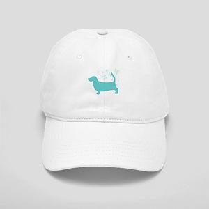 Basset Hound Snowflake Cap