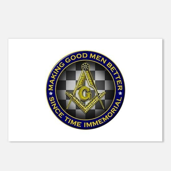 Masons Making Good Men Better Postcards (Package o