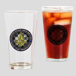 Masons Making Good Men Better Drinking Glass