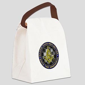 Masons Making Good Men Better Canvas Lunch Bag