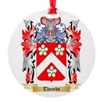 Thombs Round Ornament