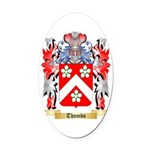 Thombs Oval Car Magnet