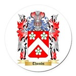 Thombs Round Car Magnet