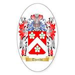 Thombs Sticker (Oval 50 pk)