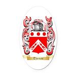 Thomas (Dublin) Oval Car Magnet