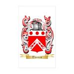Thomas (Dublin) Sticker (Rectangle 50 pk)