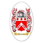 Thomas (Dublin) Sticker (Oval 50 pk)