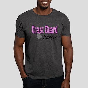 Coast Guard Fiancee Dark T-Shirt