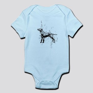 Dalmatian dog art Body Suit