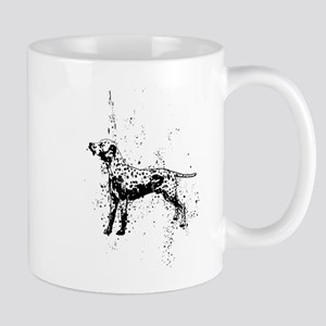 Dalmatian dog art Mugs