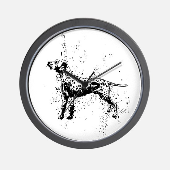Dalmatian dog art Wall Clock