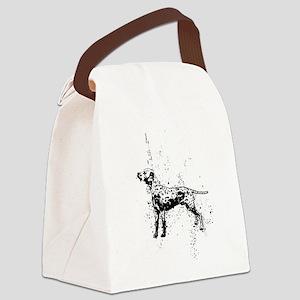 Dalmatian dog art Canvas Lunch Bag