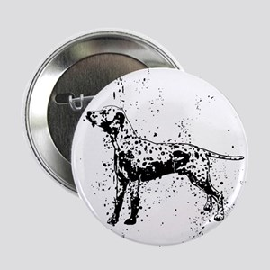 "Dalmatian dog art 2.25"" Button"
