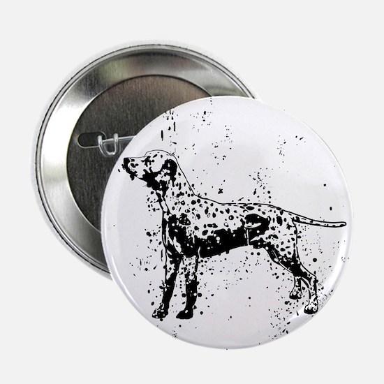 "Dalmatian dog art 2.25"" Button"