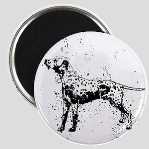 Dalmatian dog art Magnets