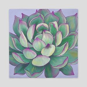 Succulent plant Queen Duvet