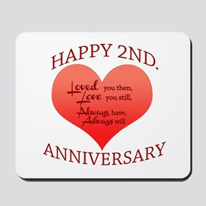 5th. Anniversary Mousepad