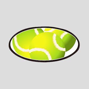 Tennis balls art Patch