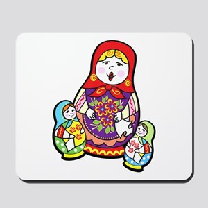 Nesting Dolls Mousepad
