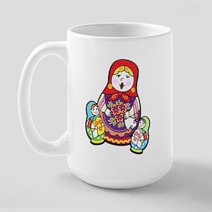 Nesting Dolls Large Mug