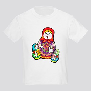 Nesting Dolls Kids Light T-Shirt