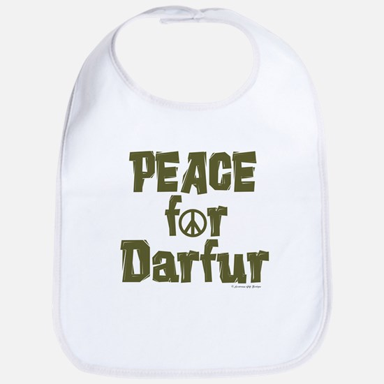 Peace For Darfur 1.2 Bib