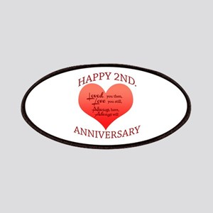 5th. Anniversary Patch
