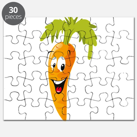 Carrot smiling design Puzzle