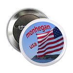 """Monhegan USA 2.25"""" Button"""