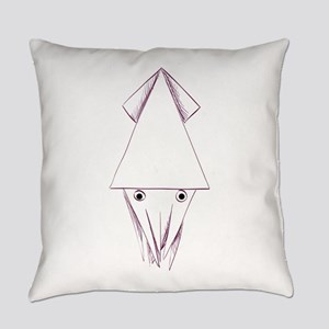 Different of model origami animals Everyday Pillow