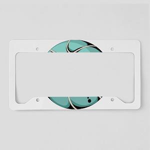 Basketball elements design License Plate Holder