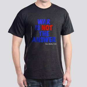 """War No Answer"" Dark T-Shirt"