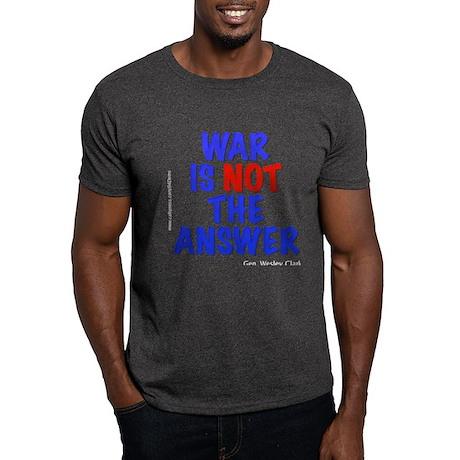 """War No Answer"" Dark T-Shirt"