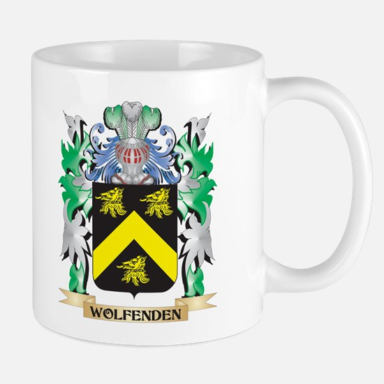 Wolfenden Coat of Arms - Family Crest Mugs