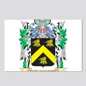 Wolfenden Coat of Arms - Postcards (Package of 8)
