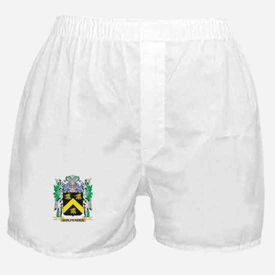 Wolfenden Coat of Arms - Family Crest Boxer Shorts