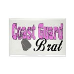 Coast Guard Brat Rectangle Magnet (10 pack)