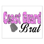 Coast Guard Brat Small Poster