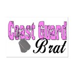 Coast Guard Brat  Mini Poster Print