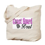 Coast Guard Brat  Tote Bag