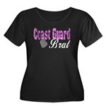 Coast Guard Brat Women's Plus Size Scoop Neck Dar