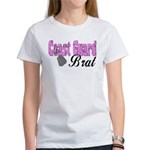 Coast Guard Brat Women's T-Shirt