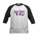 Coast Guard Brat Kids Baseball Jersey