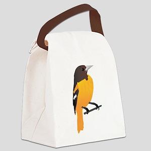 Baltimore oriole bird Canvas Lunch Bag