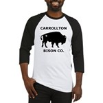 Carrollton Bison Co. Baseball Jersey